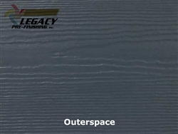 James Hardie, Prefinished CedarMill Lap Siding - Outerspace