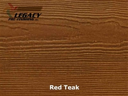 James Hardie, Prefinished CedarMill Lap Siding - Red Teak Stain