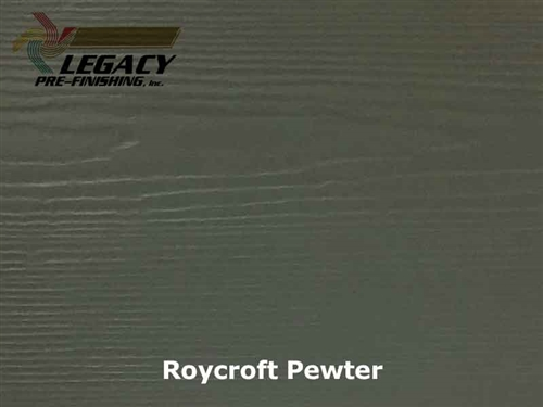 James Hardie, Prefinished Lap Siding - Roycroft Pewter