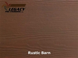 James Hardie, Prefinished CedarMill Lap Siding - Rustic Barn Stain