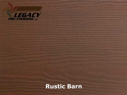 James Hardie, Pre-Finished Fiber Cement Cedar Lap Siding - Rustic Barn