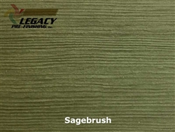 James Hardie, Pre-Finished Fiber Cement Cedar Lap Siding - Sagebrush Stain