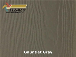 James Hardie Panel Siding, Prefinished - Gauntlet Gray
