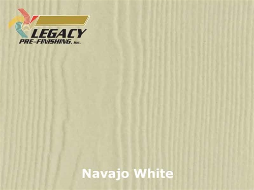James Hardie Panel Siding, Prefinished - Navajo White