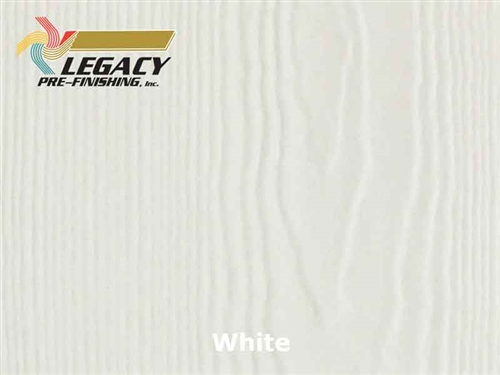 James Hardie Panel Siding, Prefinished - White