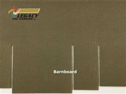 James Hardie, Prefinished Shingle Panel Siding - Barnboard Stain