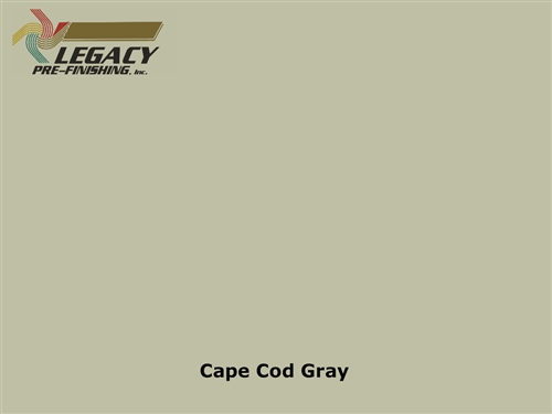 James Hardie, Prefinished Shingle Panel Siding - Cape Cod Gray