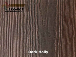 James Hardie, Prefinished Shingle Panel Siding - Dark Holly