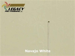 James Hardie, Prefinished Shingle Panel Siding - Navajo White