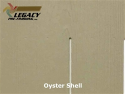 James Hardie, Prefinished Shingle Panel Siding - Oyster Shell