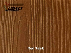 James Hardie, Prefinished Shingle Panel Siding - Red Teak