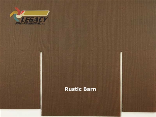 James Hardie, Prefinished Shingle Panel Siding - Rustic Barn Stain
