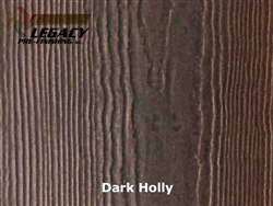James Hardie, Prefinished HardieSoffit - Dark Holly Stain