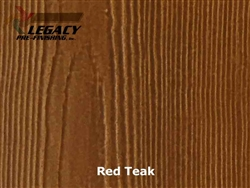 James Hardie, Prefinished HardieSoffit - Red Teak