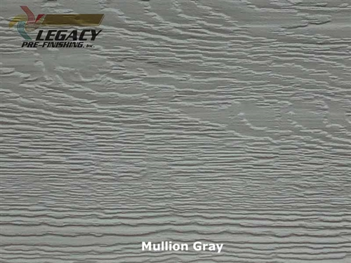 KWP Eco-side, Pre-Finished Lap Siding - Mullion Gray