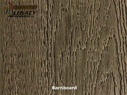 KWP Pre-Finished Woodgrain Vertical Panel Siding - Barnboard