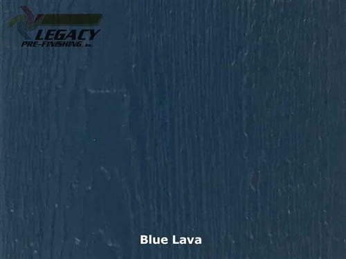 KWP Eco-side, Pre-Finished Woodgrain Panel Siding - Blue Lava