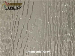 KWP Eco-side, Pre-Finished Woodgrain Panel Siding - Intellectual Gray