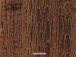KWP Pre-Finished Woodgrain Vertical Panel Siding - Jacobean