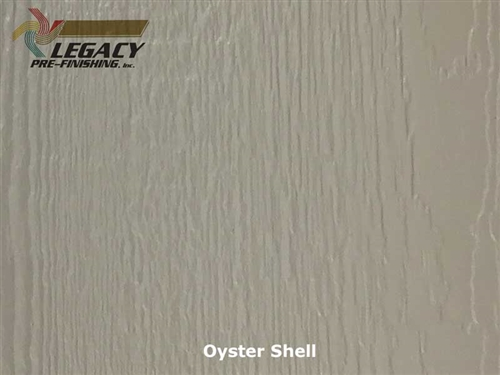 KWP Eco-side, Pre-Finished Woodgrain Panel Siding - Oyster Shell