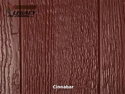 KWP Eco-side, Pre-Finished Shake Panel Siding - Cinnabar