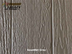 KWP Eco-side, Pre-Finished Shake Panel Siding - Gauntlet Gray
