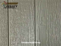 KWP Eco-side, Pre-Finished Shake Panel Siding - Intellectual Gray