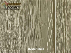 KWP Eco-side, Pre-Finished Shake Panel Siding - Oyster Shell