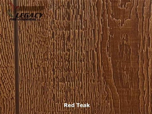 KWP Eco-side, Pre-Finished Shake Panel Siding - Red Teak