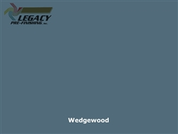 KWP Eco-side, Pre-Finished Shake Panel Siding - Wedgewood