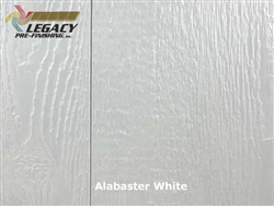Prefinished LP SmartSide, Cedar Shake Panel - Alabaster