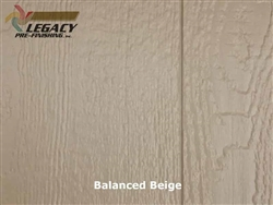 Prefinished LP SmartSide, Cedar Shake Panel - Balanced Beige
