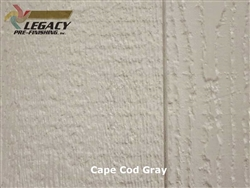 Prefinished LP SmartSide, Cedar Shake Panel - Cape Cod Gray
