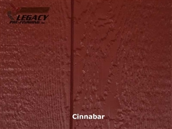 Prefinished LP SmartSide, Cedar Shake Panel - Cinnabar