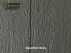 Prefinished LP SmartSide, Cedar Shake Panel - Gauntlet Gray