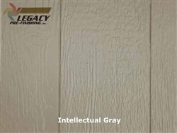Prefinished LP SmartSide, Cedar Shake Panel - Intellectual Gray