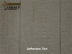Prefinished LP SmartSide, Cedar Shake Panel - Jefferson Tan