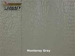 Prefinished LP SmartSide, Cedar Shake Panel - Monterey Gray