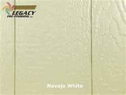 Prefinished LP SmartSide, Cedar Shake Panel - Navajo White