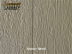 Prefinished LP SmartSide, Cedar Shake Panel - Oyster Shell