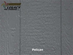 Prefinished LP SmartSide, Cedar Shake Panel - Pelican