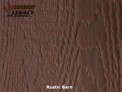 Prefinished LP SmartSide, Cedar Shake Panel - Rustic Barn Stain