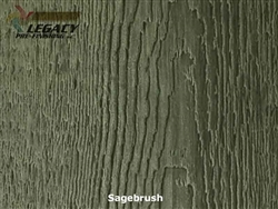 Prefinished LP SmartSide, Cedar Shake Panel - Sagebrush Stain