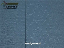 Prefinished LP SmartSide, Cedar Shake Panel - Wedgewood