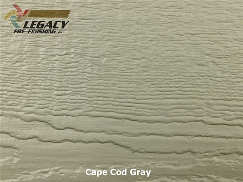 LP SmartSide, Engineered Wood Cedar Texture Lap Siding - Cape Cod Gray