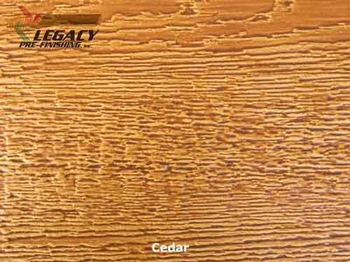 LP SmartSide, Engineered Wood Cedar Texture Lap Siding - Cedar Stain