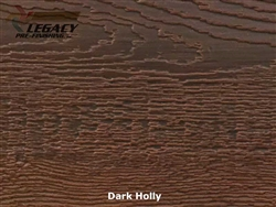 LP SmartSide, Engineered Wood Cedar Texture Lap Siding - Dark Holly Stain