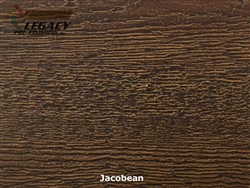 LP SmartSide, Engineered Wood Cedar Texture Lap Siding - Jacobean Stain