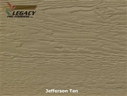 LP SmartSide, Engineered Wood Cedar Texture Lap Siding - Jefferson Tan