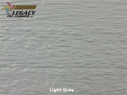 LP SmartSide Engineered Wood, Cedar Texture Lap Siding - Light Gray